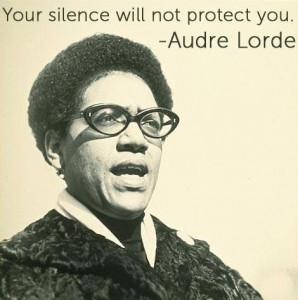 audre lord silence