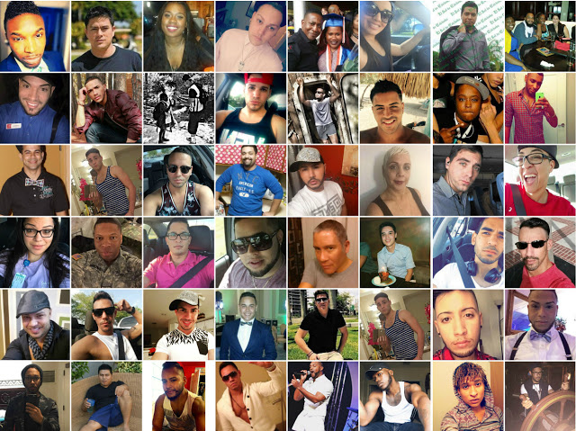 48 named victims of Orlando massacre of LGBTQ people of color