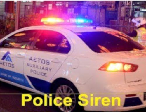 POETRY CORNER:   Sirens!