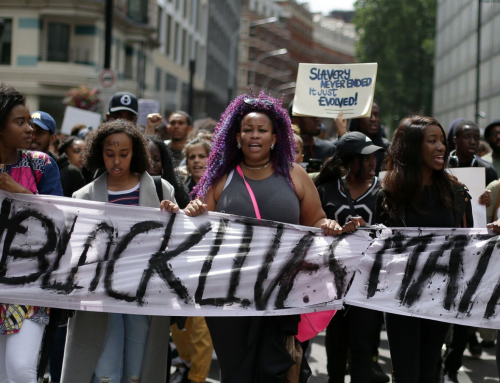 Black Lives Matter Excluded from 4th Women's March