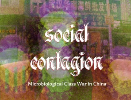 Capitalism, Class Struggle and the Coronavirus in China
