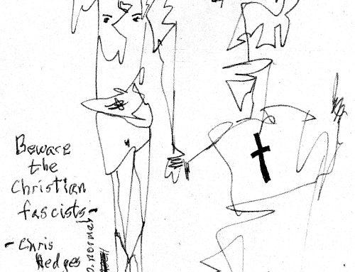 Editorial cartoon: Beware the Christian Fascists