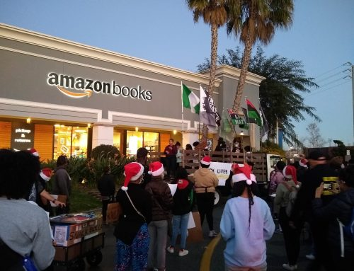 Black Lives Matter LA Boycotts Amazon