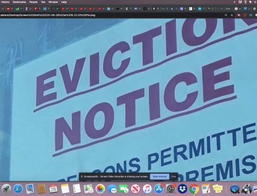 Evictions Wrongfully Proceeding in LA Courts