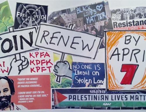 April 7 Deadline to Qualify to Vote – Democracy & Diversity in Danger at KPFK/Pacifica Radio!
